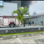 Fire incident at Access Bank branch in Lagos