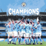 Manchester City FC - English Premier League Champions once again