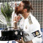 Sergio Ramos Leaves Santiago Bernabeu with 22 Trophies